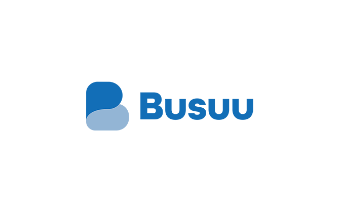Busuu at card